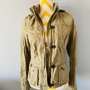 Abercrombie & Fitch hooded utility jacket